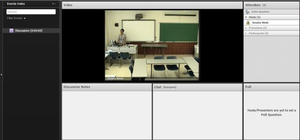 Example of Integrated Classroom with Cam and Mic