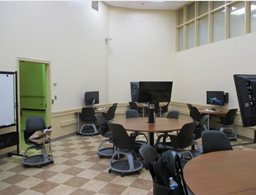 Classroom at Marie Mount Hall