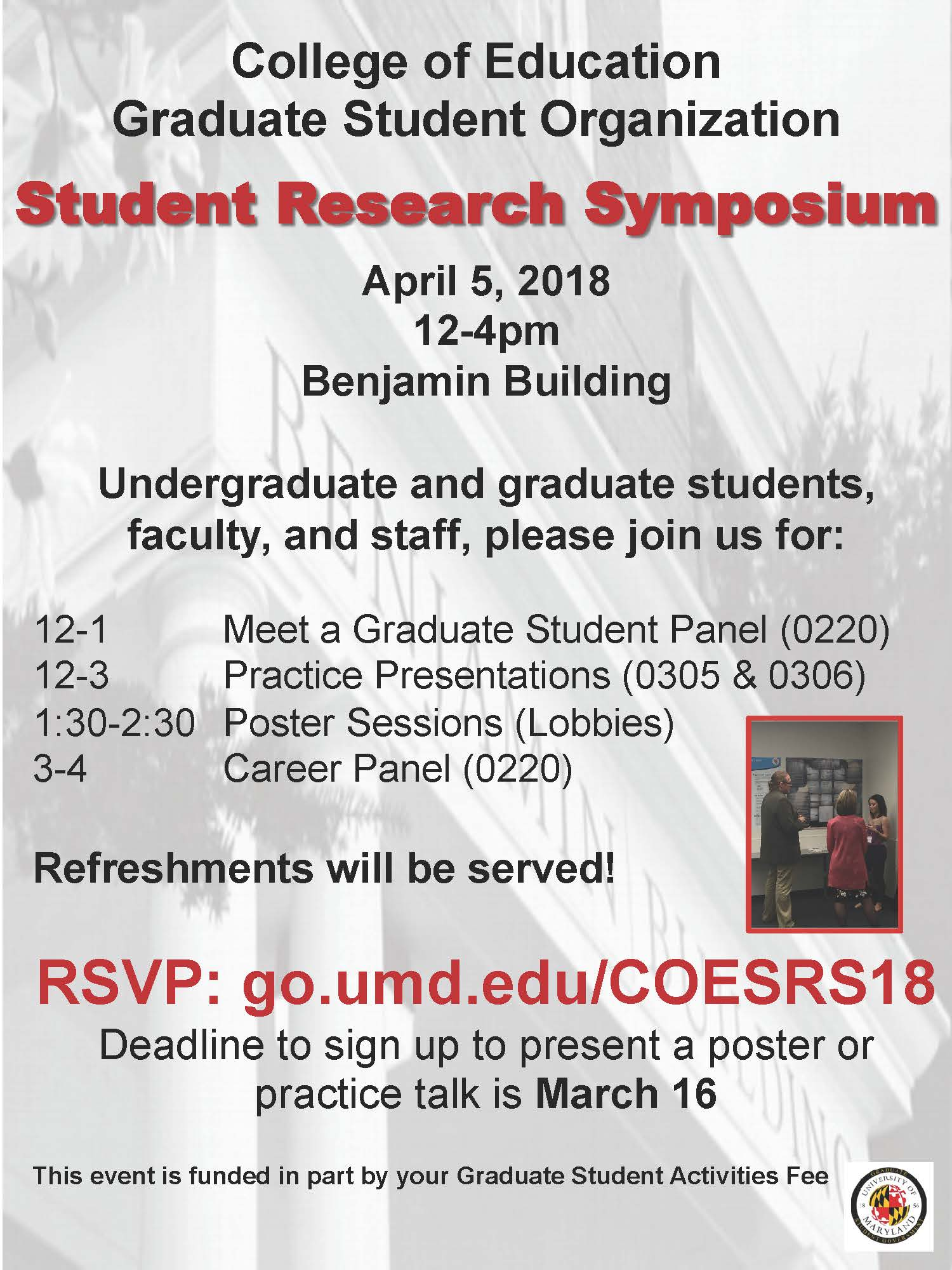 graduate student research symposium (srs) | umd college of education