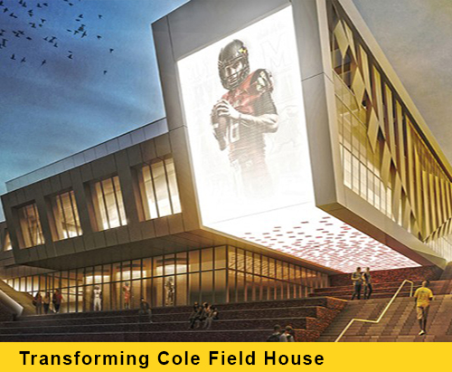 Transforming Cole Field House