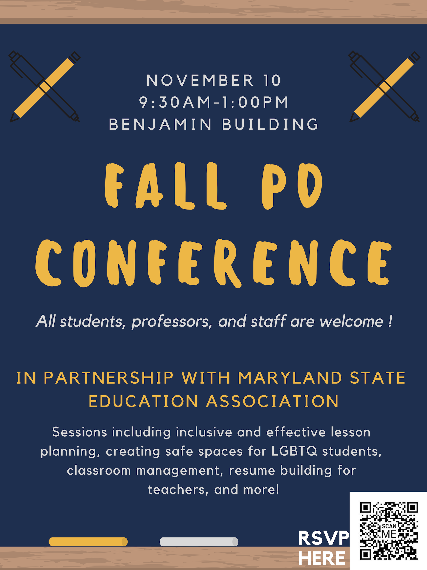 Fall PD Conference