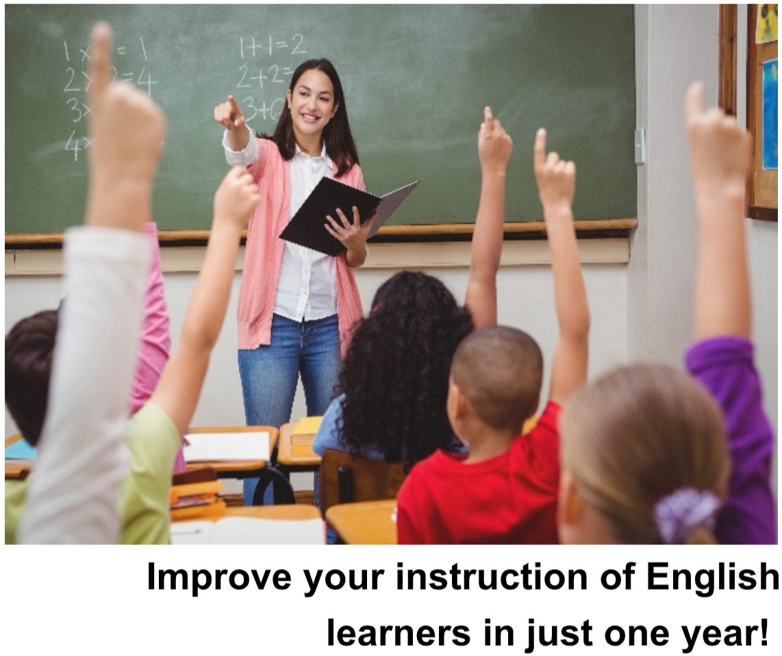 Improve your instruction in English in just one year!