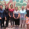 Photo of FRANCES LIM, CLINICAL PSYCHOLOGIST CONSULTATION INTERN SUPERVISOR; TAN EI WIN CONSULTATION INTERN; THREE REFUGEE TEACHER PARTICIPANTS; DR. COLLEEN R. O'NEAL.