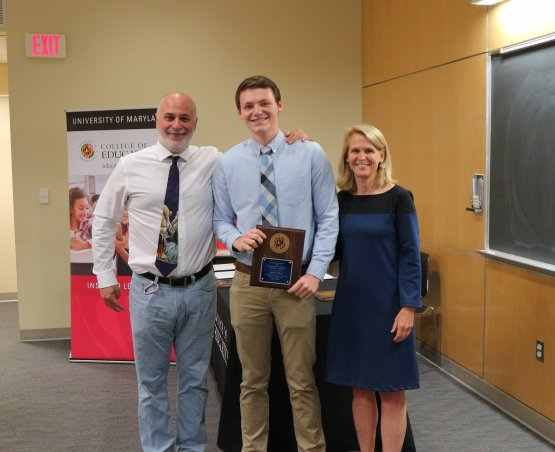 David Clifford receives award at COE ceremony