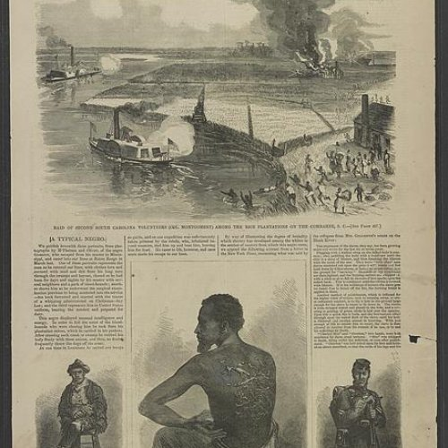 COMBAHEE RIVER RAID, IMAGE COURTESY LIBRARY OF CONGRESS