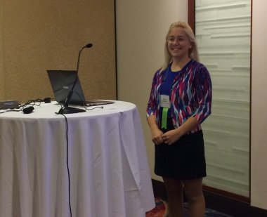 Photo of Emily Daubert at SRCD
