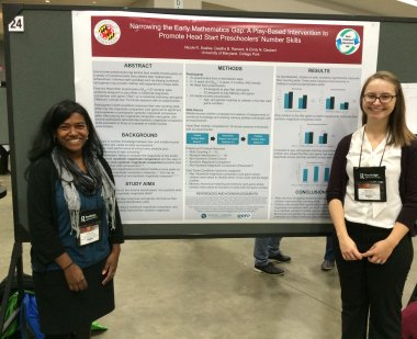Photo of Nicole and Geetha Poster