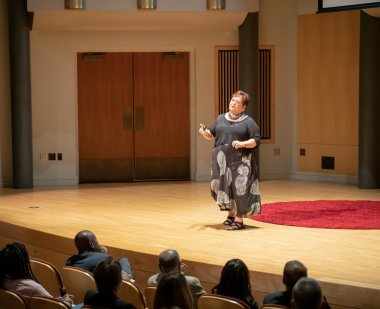 Patricia Alexander presents at TerrapinEdTalks: Advancing Equity